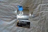 Ford Shelby GT500 Aluminum Power Steering Reservoir Tank BEFORE Chrome-Like Metal Polishing - Aluminum Polishing