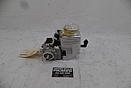 Hemi 6.4L Aluminum Power Steering Pump BEFORE Chrome-Like Metal Polishing - Aluminum Polishing - Power Steering Pump Polishing