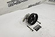 Aluminum Power Steering Pump BEFORE Chrome-Like Metal Polishing - Aluminum Polishing - Power Steering Pump Polishing