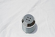 Ford GT V8 Aluminum Supercharger Pulley AFTER Chrome-Like Metal Polishing and Buffing Services