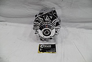Aluminum V8 Engine Alternator Pulley AFTER Chrome-Like Metal Polishing and Buffing Services / Restoration Services