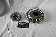 Steel Pulleys AFTER Chrome-Like Metal Polishing and Buffing Services / Restoration Services