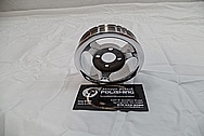 Whipple Aluminum Supercharger Pulley AFTER Chrome-Like Metal Polishing and Buffing Services / Restoration Services