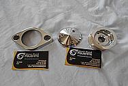 Aluminum Engine Pulley AFTER Chrome-Like Metal Polishing - Aluminum Polishing