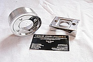 Racing Aluminum Pulley AFTER Chrome-Like Metal Polishing and Buffing Services