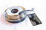 Toyota Supra AC Compressor Pulley AFTER Chrome-Like Metal Polishing and Buffing Services
