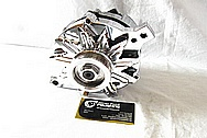 Saleen Mustang Steel Alternator Pulley AFTER Chrome-Like Metal Polishing and Buffing Services / Restoration Services