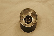 Ford GT V8 Aluminum Supercharger Idler Pulley BEFORE Chrome-Like Metal Polishing and Buffing Services