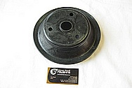 Steel Pulley BEFORE Chrome-Like Metal Polishing and Buffing Services