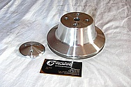Engine Pulleys BEFORE Chrome-Like Metal Polishing and Buffing Services / Restoration Services