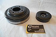 Steel Pulleys BEFORE Chrome-Like Metal Polishing and Buffing Services / Restoration Services