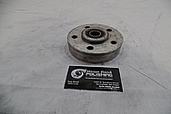 Steel Pulley BEFORE Chrome-Like Metal Polishing and Buffing Services / Restoration Services