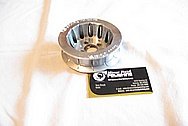 Ford Mustang V8 Pulley BEFORE Chrome-Like Metal Polishing and Buffing Services