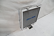 Ron Davis Aluminium Radiator AFTER Chrome-Like Metal Polishing and Buffing Services / Restoration Services