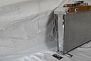 Aluminum Radiator AFTER Chrome-Like Metal Polishing and Buffing Services - Aluminum Polishing Services