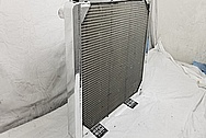 Aluminum Radiator AFTER Chrome-Like Metal Polishing and Buffing Services / Restoration Services - Aluminum Polishing