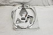 Aluminum Radiator Fan Shroud AFTER Chrome-Like Metal Polishing and Buffing Services / Restoration Services - Aluminum Polishing