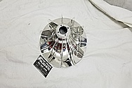 1969 Chevrolet Corvair Magnesium Radiator Cooling Fan AFTER Chrome-Like Metal Polishing and Buffing Services / Restoration Services - Magnesium Polishing