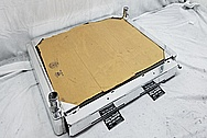 Aluminum Radiator AFTER Chrome-Like Metal Polishing and Buffing Services / Restoration Services - Aluminum Polishing