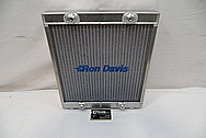 Ron Davis Aluminium Radiator BEFORE Chrome-Like Metal Polishing and Buffing Services / Restoration Services