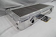 417 Motorsports Aluminium Radiator BEFORE Chrome-Like Metal Polishing and Buffing Services / Restoration Services