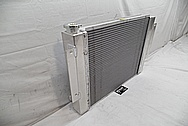 Aluminium Radiator Casing BEFORE Chrome-Like Metal Polishing and Buffing Services / Restoration Services - Aluminum Polishing