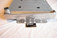 1967 Chevy Camaro V8 Aluminum Radiator BEFORE Chrome-Like Metal Polishing and Buffing Services
