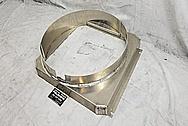 Aluminum Radiator Fan Shroud BEFORE Chrome-Like Metal Polishing and Buffing Services / Restoration Services - Aluminum Polishing