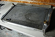 Aluminum Radiator Core BEFORE Chrome-Like Metal Polishing and Buffing Services