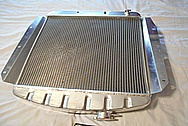 Aluminum Radiator BEFORE Chrome-Like Metal Polishing and Buffing Services / Restoration Services