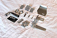 Backlast S-26 RC (Radio Controlled) Boat Parts AFTER Chrome-Like Metal Polishing and Buffing Services / Restoration Services