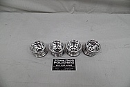 RC Radio Controlled Custom Aluminum Truck Wheels AFTER Chrome-Like Metal Polishing and Buffing Services / Restoration Services - Aluminum Polishing