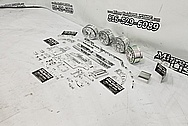 Aluminum RC Car Parts AFTER Chrome-Like Metal Polishing and Buffing Services / Restoration Services - Aluminum Polishing