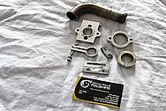 Backlast S-26 RC (Radio Controlled) Boat Parts BEFORE Chrome-Like Metal Polishing and Buffing Services / Restoration Services