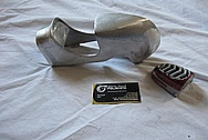 Aluminum Model Car Parts BEFORE Chrome-Like Metal Polishing and Buffing Services / Restoration Services