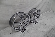 Scooter Aluminum Wheels AFTER Chrome-Like Metal Polishing and Buffing Services - Aluminum Polishing