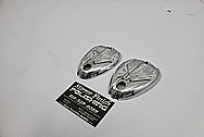 Lambretta Scooter Aluminum Cover Pieces AFTER Chrome-Like Metal Polishing and Buffing Services - Aluminum Polishing