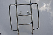 Scooter Metal Grate Piece AFTER Chrome-Like Metal Polishing and Buffing Services