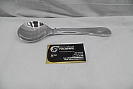 Aluminum Spoon Sculptures AFTER Chrome-Like Metal Polishing and Buffing Services / Restoration Services