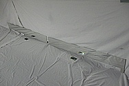 Aluminum Sheet Metal Pieces AFTER Chrome-Like Metal Polishing and Buffing Services / Restoration Services