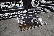 Aluminum 6061 Sheet AFTER Chrome-Like Metal Polishing and Buffing Services - Aluminum Polishing