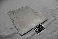 Steel Plate/ Sheet Metal BEFORE Chrome-Like Metal Polishing and Buffing Services / Restoration Services