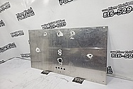 Aluminum Sheet BEFORE Chrome-Like Metal Polishing and Buffing Services - Aluminum Polishing Services