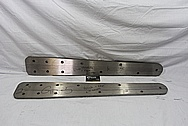 Titanium Metal Plate BEFORE Chrome-Like Metal Polishing and Buffing Services / Restoration Services