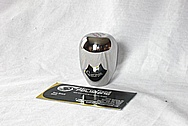 Automotive Skunk 2 Aluminum Shifter Knob AFTER Chrome-Like Metal Polishing and Buffing Services