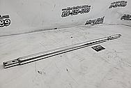 Aluminum Strut Tower Bar AFTER Chrome-Like Metal Polishing and Buffing Services - AluminumPolishing