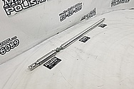 Aluminum Strut Tower Bar BEFORE Chrome-Like Metal Polishing and Buffing Services - AluminumPolishing