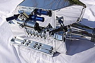 Ford Lightning V8 Aluminum SLP Supercharger AFTER Chrome-Like Metal Polishing and Buffing Services