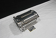 Aluminum Supercharger / Blower Part AFTER Chrome-Like Metal Polishing and Buffing Services / Restoration Services