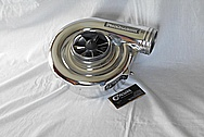 ATI Procharger F1-A Aluminum Supercharger / Blower AFTER Chrome-Like Metal Polishing and Buffing Services / Restoration Services